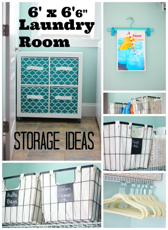 Laundry Room Storage Ideas for Small Rooms - Refresh Restyle