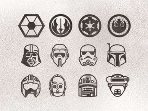 Star Wars Finger Tattoos