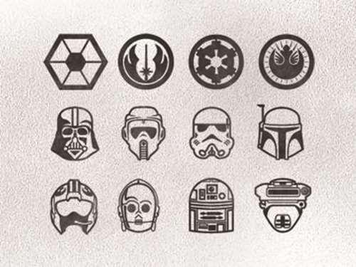 Star Wars Finger Tattoos - Tattoo Shortlist