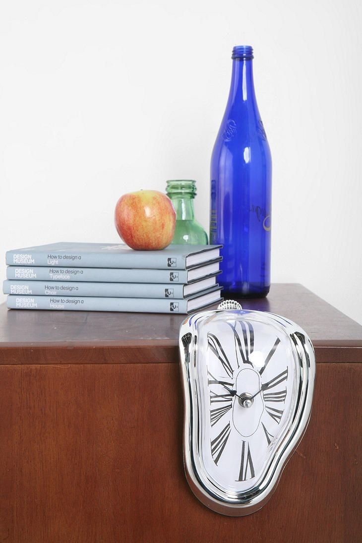 Melting Clock  #UrbanOutfitters: Beds Rooms, Urban Outfitters, Real Life, Salvadordali, Dali Paintings, Melted Clocks, Salvador Dali, Bedrooms Decor, Art Rooms