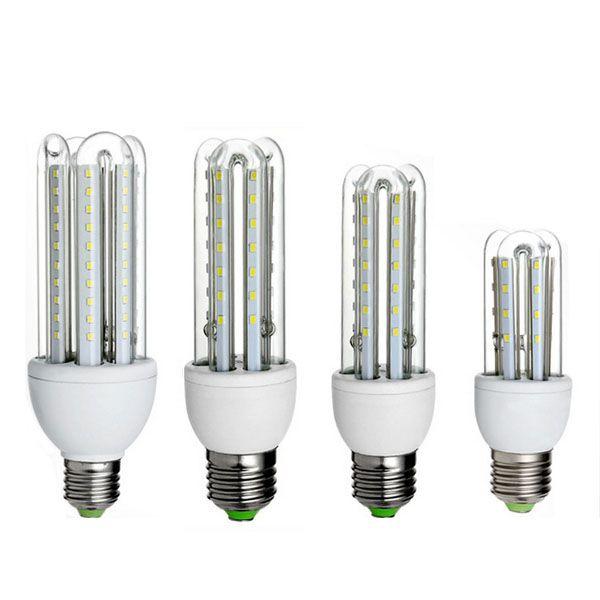 Zx E27 3w 5w 7w Smd 2835 U Shape Led Pure White Warm White Corn Light Bulb Ac85 265v Bulb Led Led Lights