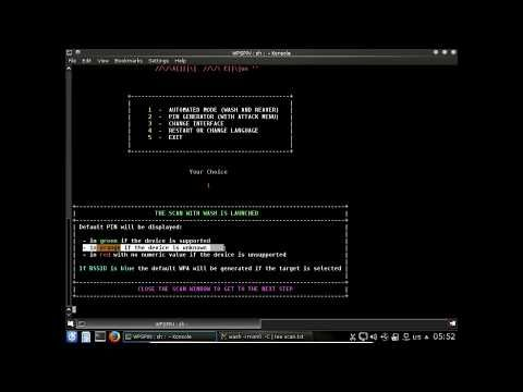 WPSPIN attack wpa/wpa2 with wps pin generator __WIFISLAX