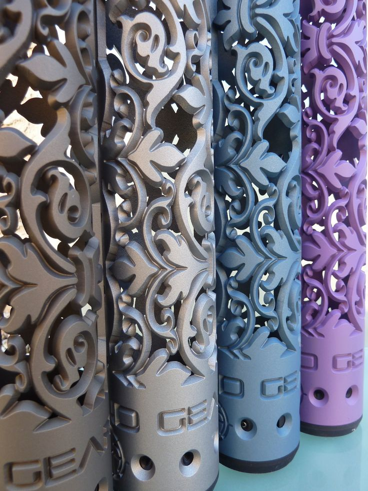 www.OffHandGear.com - new Fleur D' Lis hand guard in color! Order your's today in your choice from all the Cerakote colors!