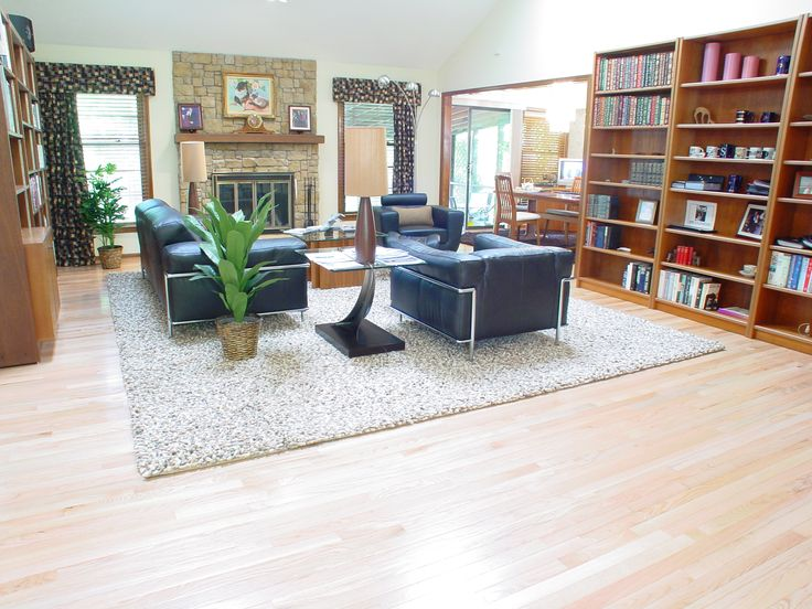 Area Rug Dimensions Did A Fabulous Job Custom Sizing This To Fit The Seating While Leaving Beautiful Hardwood Floors Visible