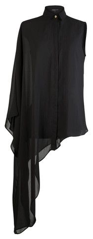 ASYMMETRICAL BLOUSE | Cruelty-Free Contemporary Clothing Delikate Rayne
