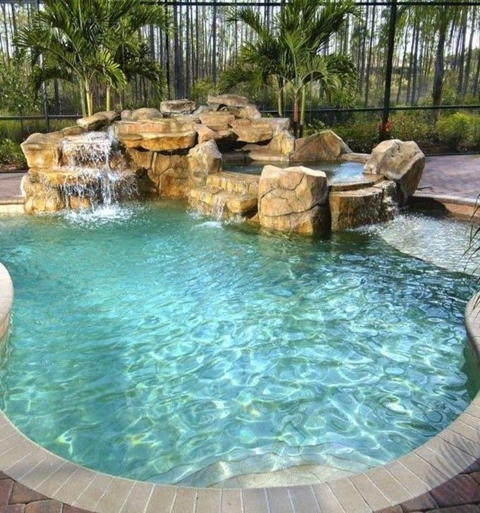 Comfy Backyard Designs Ideas With Swimming Pool Looks Cool 25 Small Pool Design Backyard Pool Pool Designs