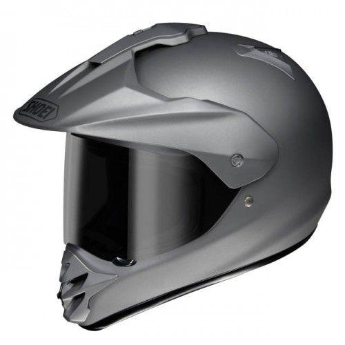 Shoei Hornet DS Matte Deep Grey Adventure Motorcycle Helmet