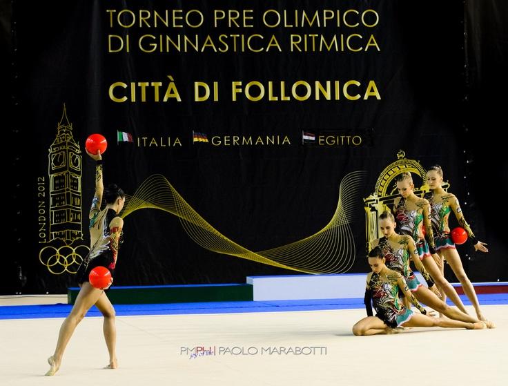 Rhythmic Gymnastic - Italy Team  Follonica (IT) July 7, 2012  #rhythmicgymnastic
