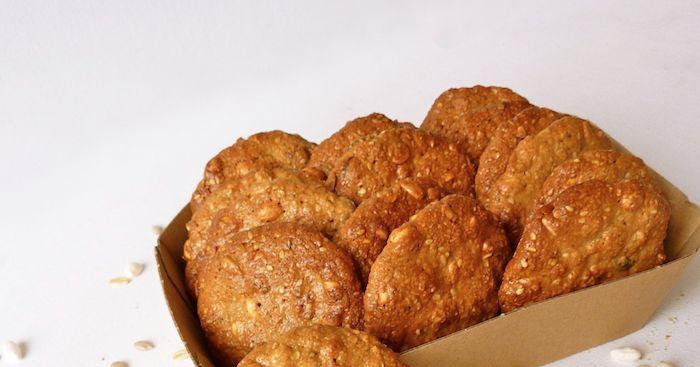 Biscotti integrali ai cereali senza burro ne lievito
