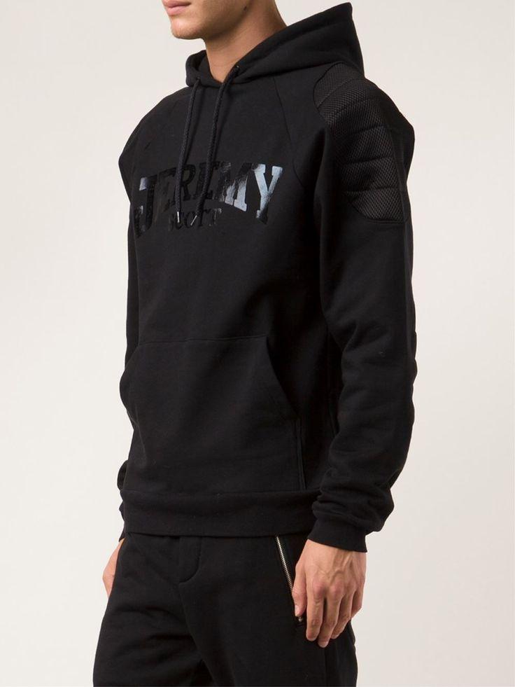 Джереми Скотт Мягкий капюшоном свитер - чет. - Farfetch.com