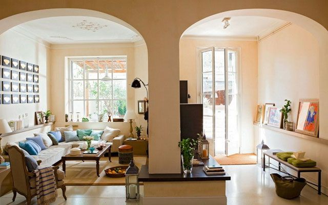 Decoraci n de casas con arcos arcos pinterest blog for Decoracion colonial fotos