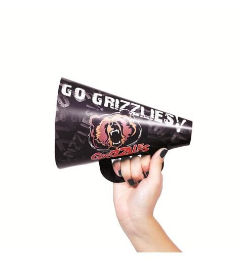 Fan Hornz are a good way to make some noise for your favorite sports team. for more information or pricing please email info@roadgearsports.com