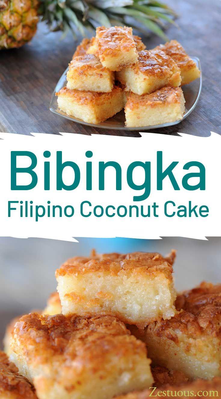 Bibingka Filipino Coconut Cake Recipe Filipino Food Dessert Asian Desserts Baked Dessert Recipes