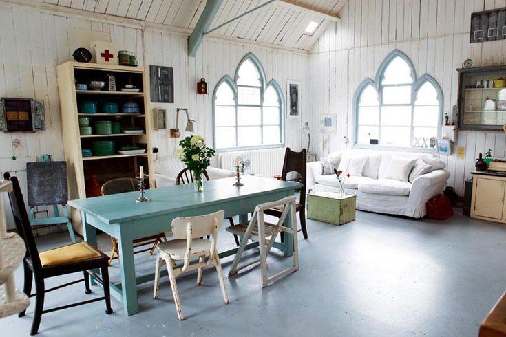 Green chapel - living room