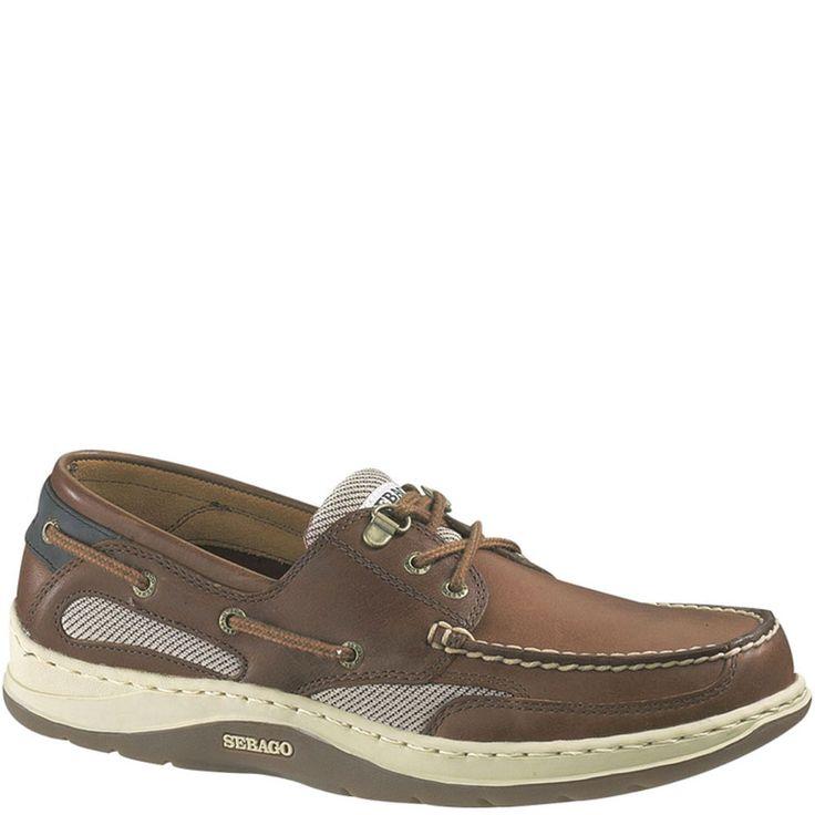Sebago Clovehitch II Men's Casual Shoes W in Amber Gold)