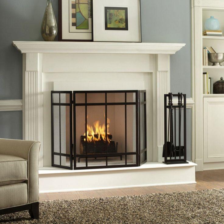 17 best ideas about Modern Fireplace Screen on Pinterest | Industrial fireplace  screens, Screen door protector and Modern fireplace decor - 17 Best Ideas About Modern Fireplace Screen On Pinterest