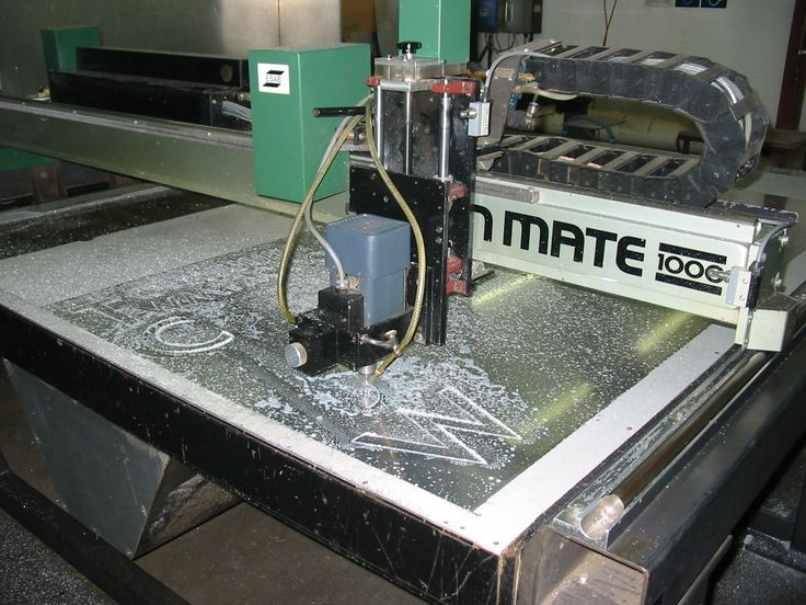 one of our engraving machiens in action etching out stainless steel
