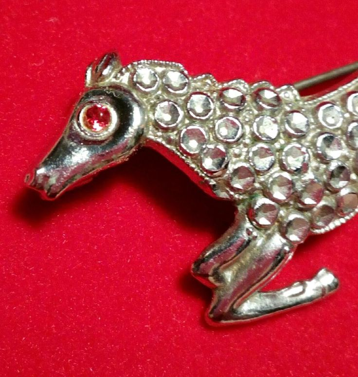 Vintage brooch silver tone Horse. in Jewellery & Watches, Vintage, Antique Jewellery | eBay!