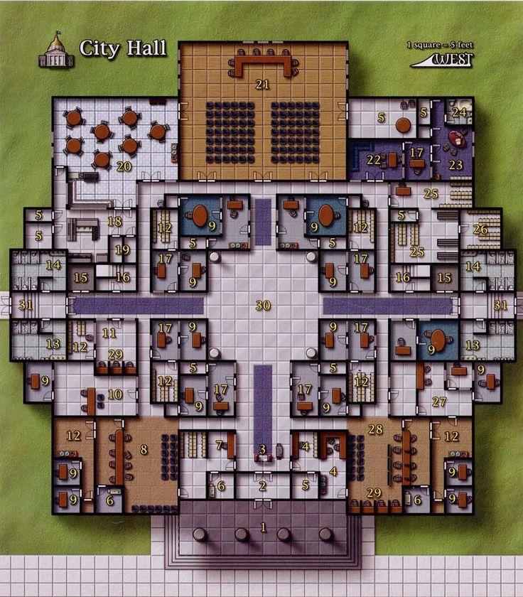 its a town hall 156 best Modern