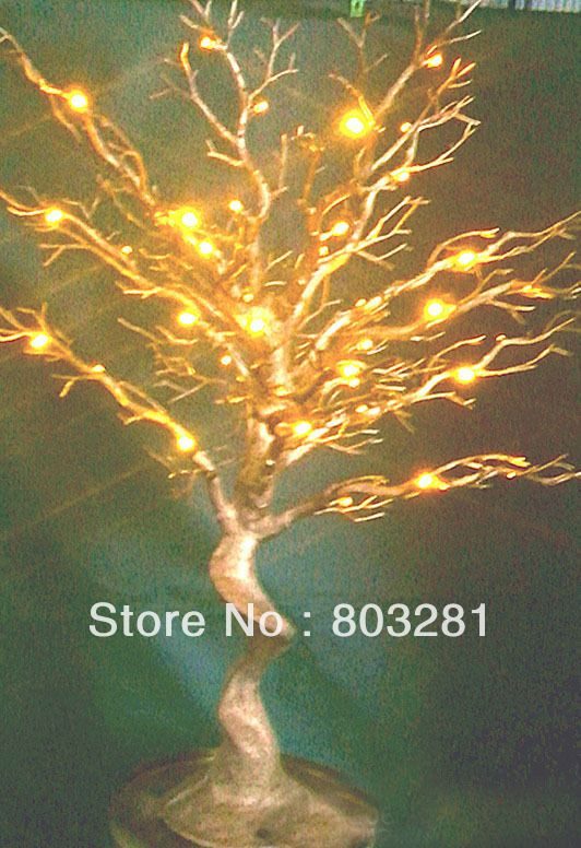 Free shipping,wedding and event statue tree,highlight LED lamp,Natural  Branch,Lamp height simulation tree, can be customized