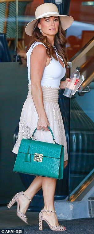 Kris Jenner, Kyle Richards and Scott Disick meet for lunch in Beverly Hills | Daily Mail Online