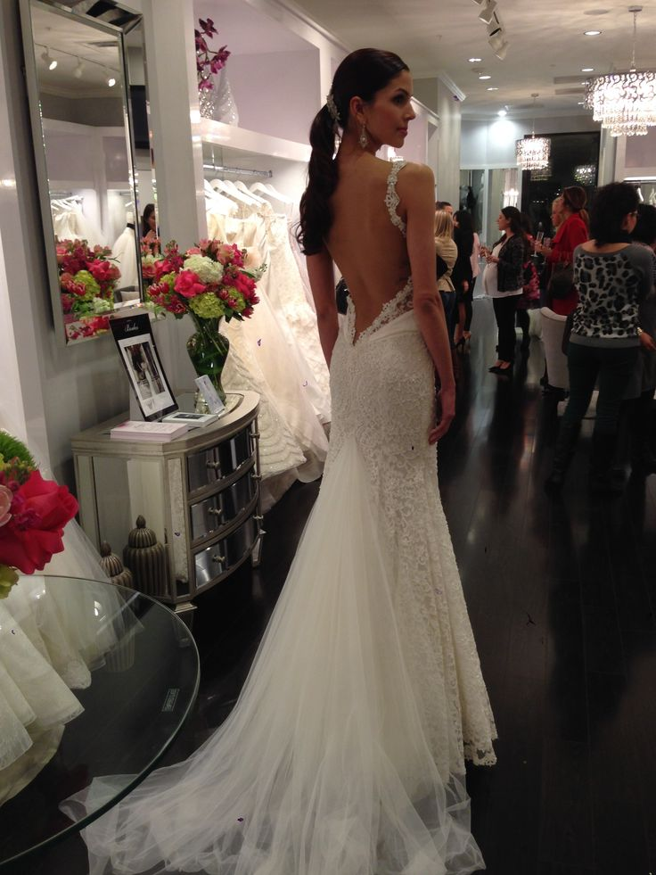 224 best Wedding Dresses images on Pinterest | Bridal dresses ...