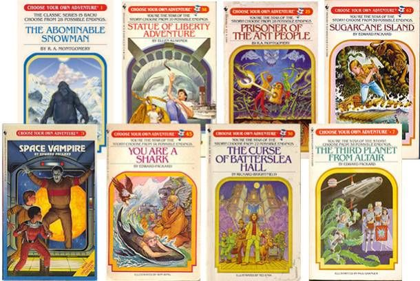 """Image via vulture.com It's the end of an adventure: R.A. Montgomery, the author and publisher behind the popular children's seriesChoose Your Own Adventure, has died at the age of 78. According to a statement on cyoa.com, Montgomery first began focusing on teaching and writing for children after he was kicked out of the Yale Divinity School """"for spending too much time skiing and mountain climbing."""" He founded a small press, Vermont Crossroads, in 1975 — and ..."""