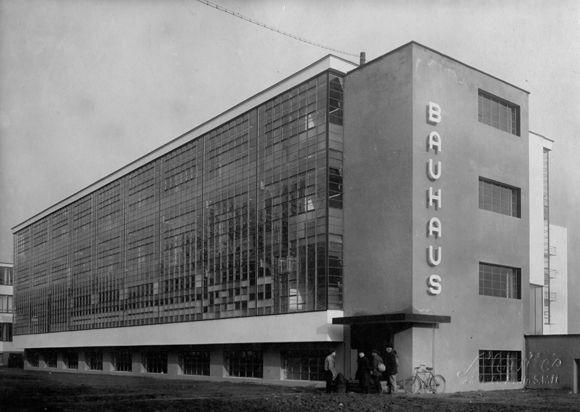 Walter Gropius, Dessau Bauhaus, View from the Southwest (built 1926)