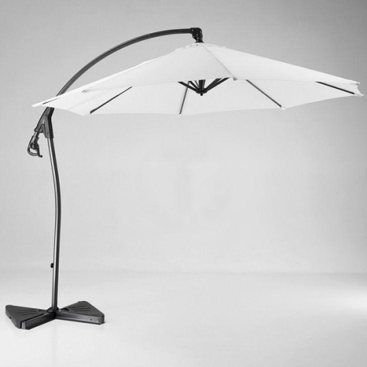 Contemporary Porto garden umbrella by Tomasucci