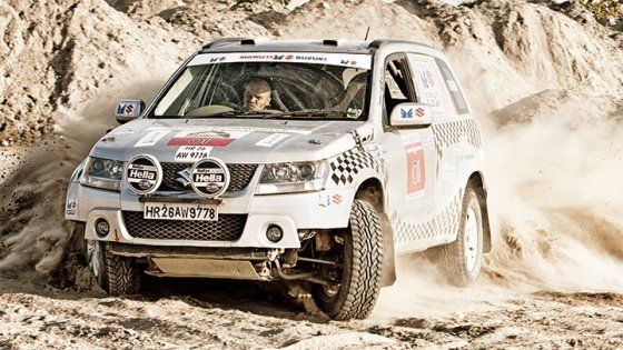 BBC TopGear Magazine India Car Gallery - Suzuki Grand Vitara Rally-Spec: Alter Ego