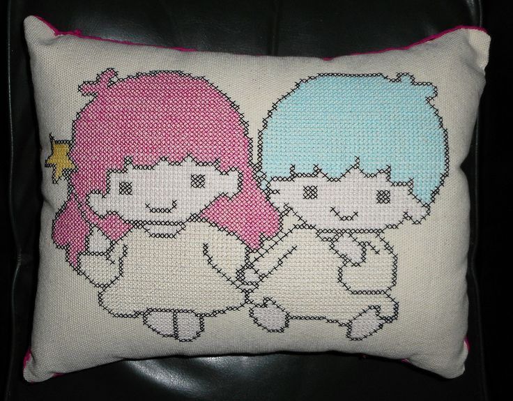 Almohadon Little Twins II. $ 220.-