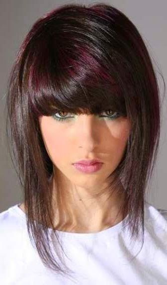 Coupe de cheveux mi long hair pinterest coupe and colors - Coup de cheveux mi long ...