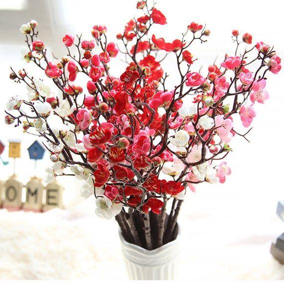 HOT Artificial Faux Silk Lilac Flower Plant Bouquet Wedding Party Home Decor