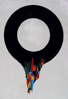 Acrylics on paper  50x70 cm