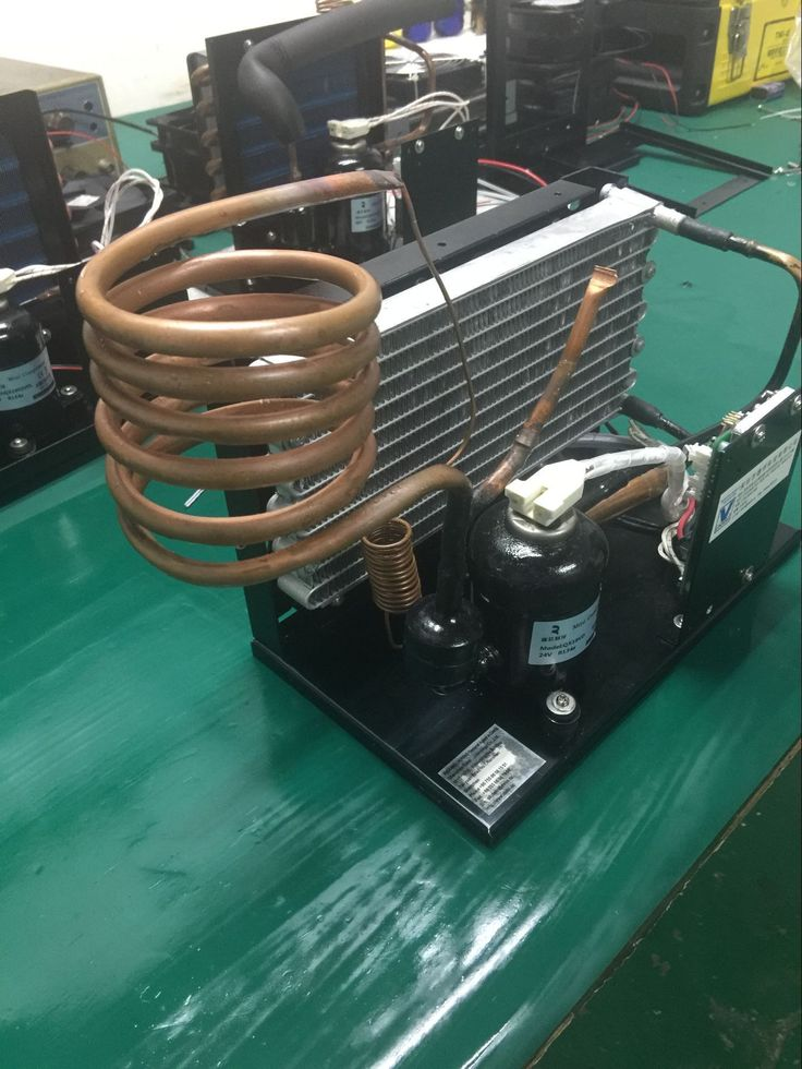 dc refrigeration unit with 12V compressor for sale Hvac