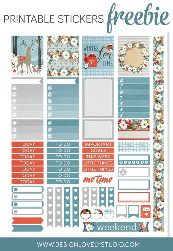 Printable Calendar Kit : Best free planner stickers and organizers images on