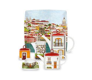 Loja Online: Presentes para ele Alma de Lisboa   Vista Alegre Atlantis
