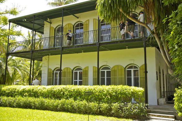 La maison d'Hemingway à Key West.
