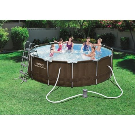 BESTWAY Kit piscine tubulaire ronde