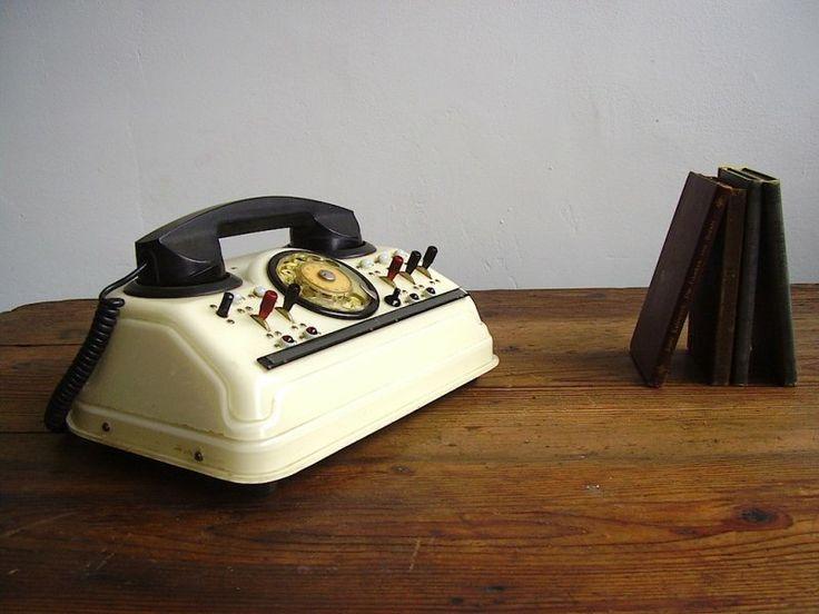 Old telephone exchange – functioning   artKRAFT - Furniture&Design
