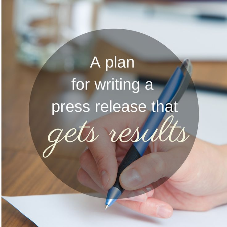 How to write a press release for your business that gets results