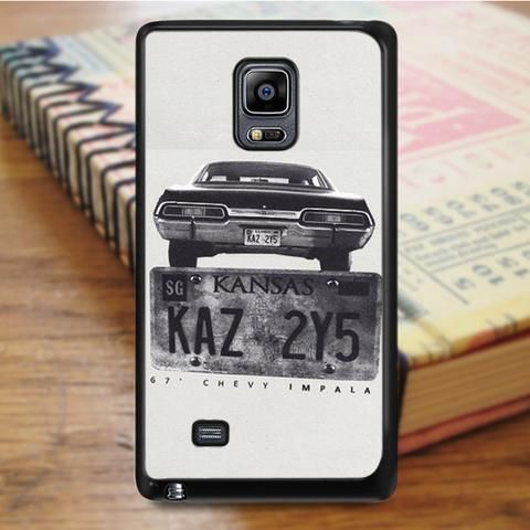 Kansas Supernatural Plate Samsung Galaxy Note 5 Case
