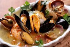 Traditional Italian Fish Stew (Brodetto di Pesce) | Enjoy this authentic Italian recipe from our kitchen to yours. Buon Appetito!