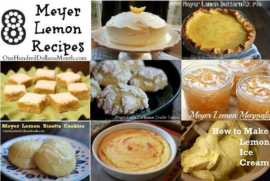 ... on Pinterest | Meyer lemon recipes, Lemon vinaigrette and Crabs