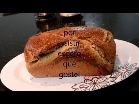 Receita de pão integral simples