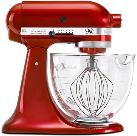 KitchenAid Mixer---All serious cooks need a stand mixer. The added attachments make any cooking/baking job a breeze!