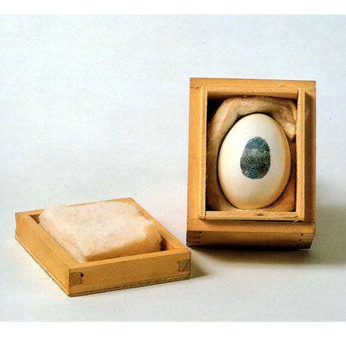 Piero Manzoni - Consumazione dell'arte dinamica del pubblico divorare l'arte - 1960
