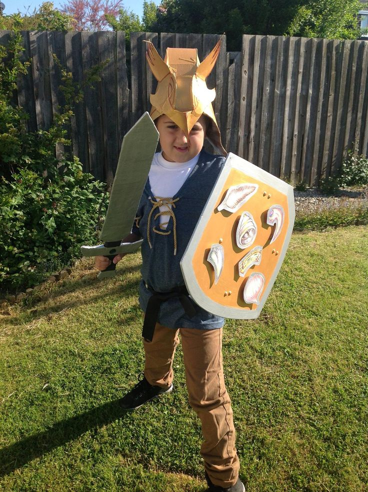 Tom from Beast Quest - book day costume
