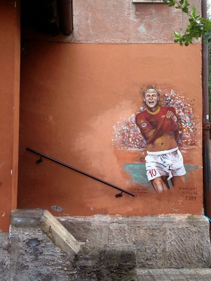 Streetart in the Garbatella neighbourhood