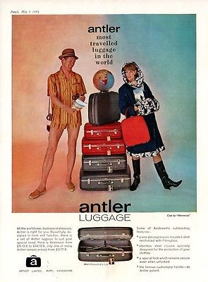 ANTLER LUGGAGE -- Bury, Lancashire  (1964 Advertisement)   for GBP3.30 #Collectables #Advertising #Other #Advertisement  Like the ANTLER LUGGAGE -- Bury, Lancashire  (1964 Advertisement)  ? Get it at GBP3.30!